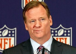 "NFL COMMISSIONER SUFFERED BRAIN-ECTOMY BEFORE SAYING KNOCKING WIFE UNCONSCIOUS NOT OKAY WHENEVER ""INSTANT REPLAY"" VIDEO AVAILABLE"