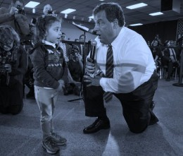 CHRISTIE SAYS SHUT-UP TO 3 YEAR-OLD & Taps Putin